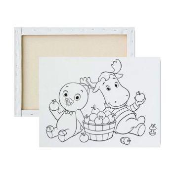 Tela para Pintura Infantil Desenhado - Peppa Pig